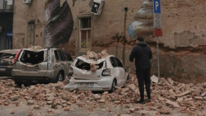 Video Nastale Stete Od Potresa U Zagrebu Zagorje Com