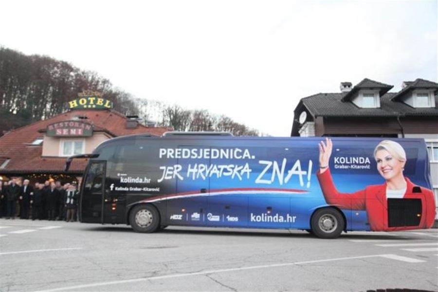 KOLINDIN AUTOBUS UDARIO AUTO S DJETETOM PA SAMO PRODUŽIO! Predsjednica se sutradan 'sto puta izvinila'!